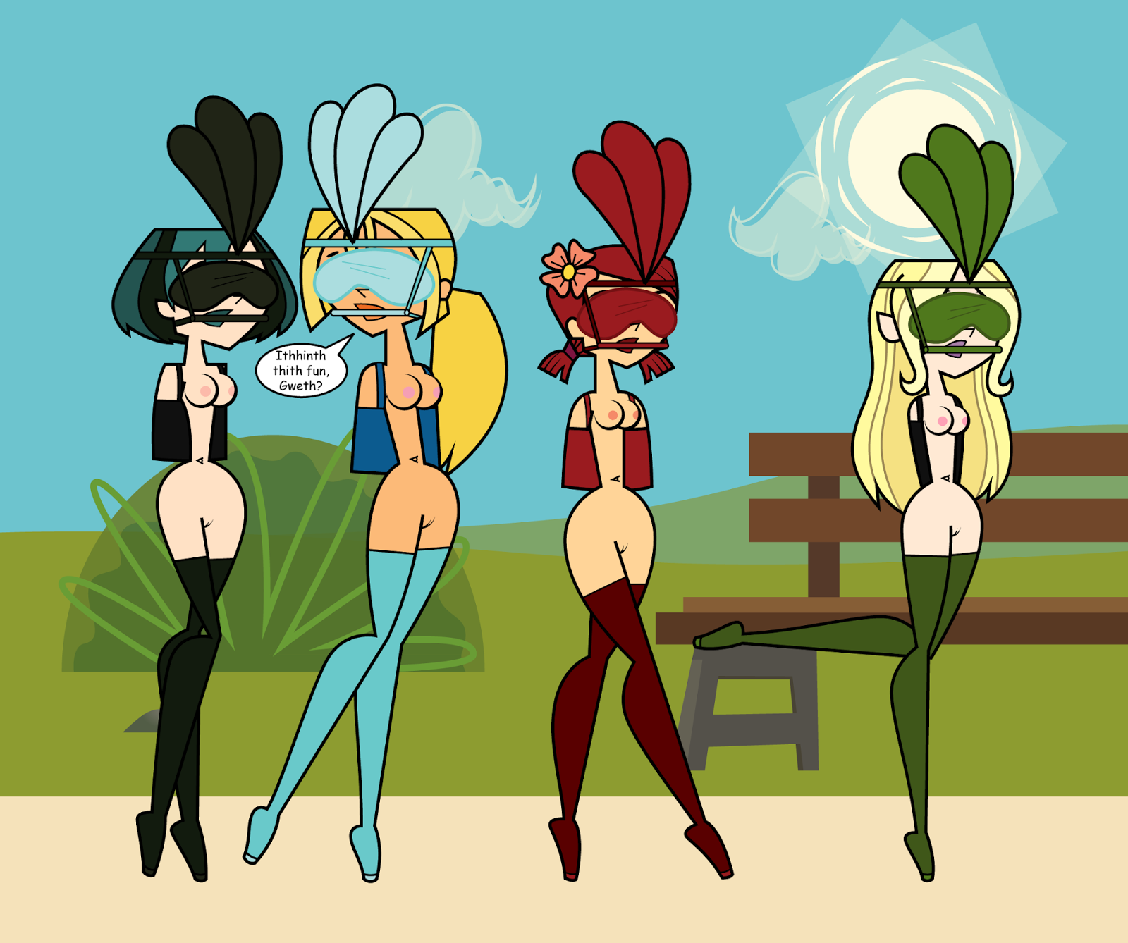 Total Drama Naked Girls