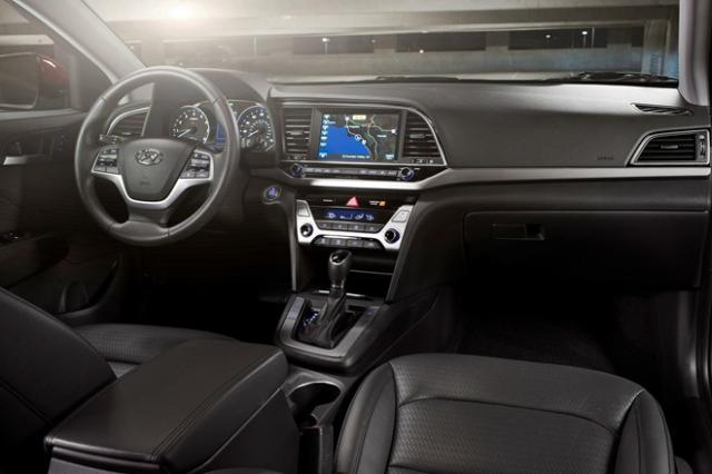 Nội thất Hyundai Elantra 2016 mới hyundai elantra 2016 Hyundai Elantra phiên bản nâng cấp 2016 new sắp về Việt Nam xe hyundai elantra 2016 2B 25283 2529