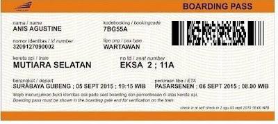 Boarding Pass Palsu