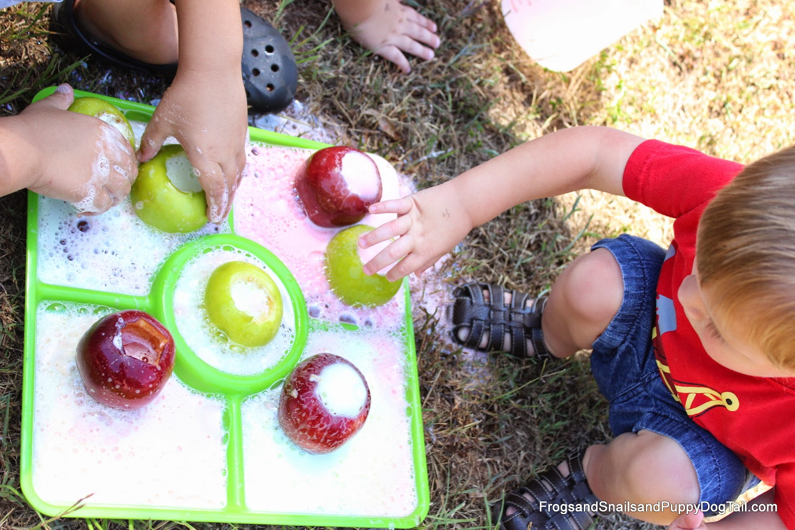 Apple Volcanoes Science For Kids