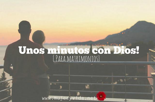 Dios, pareja, matrimonio, devocional