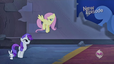 Angel, Rarity and Fluttershy