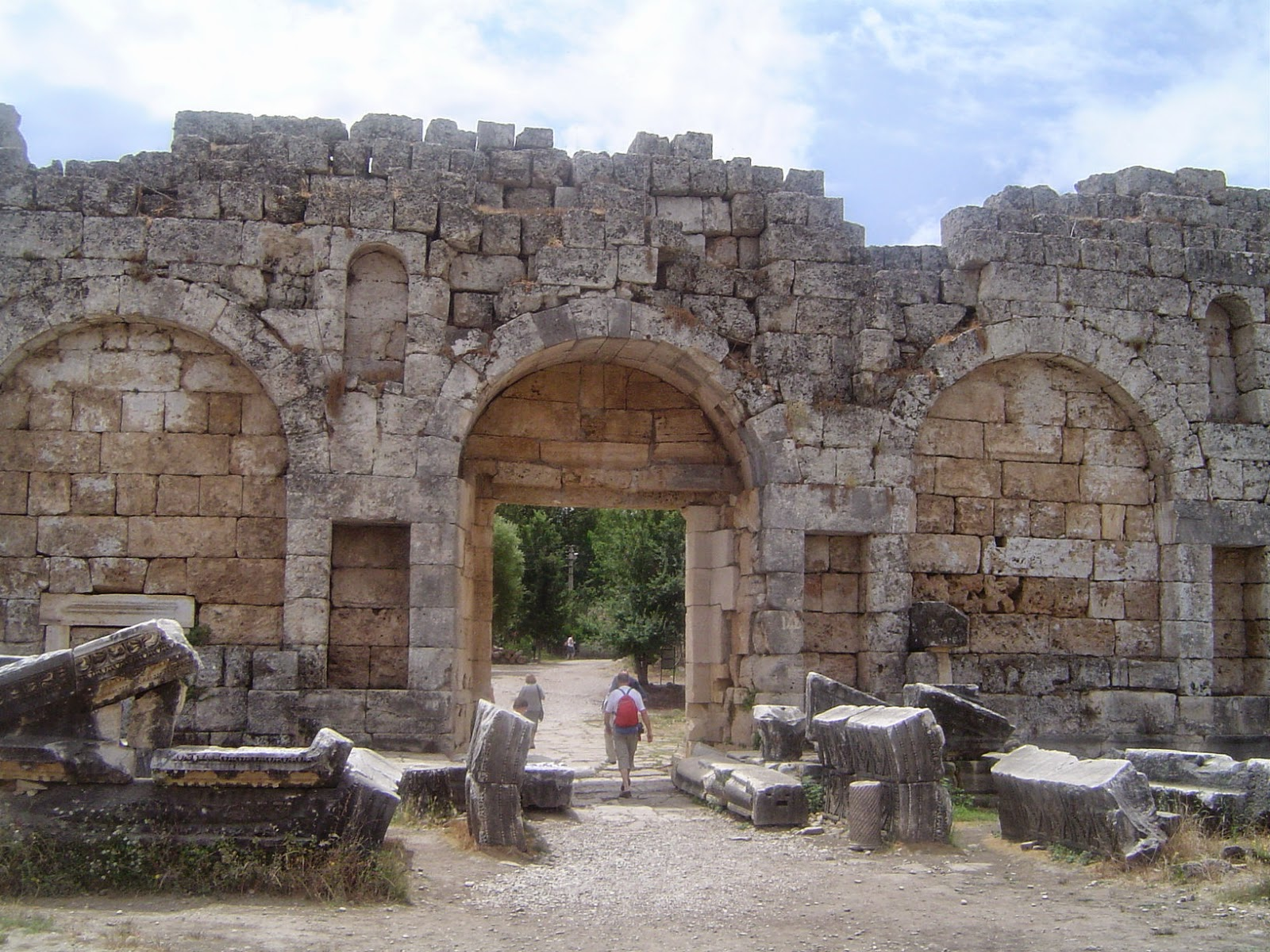 Travel History Ancient Times Perge Turkey