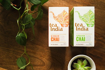Tea India Typewriter Teeth Blog Review  Chai Tea