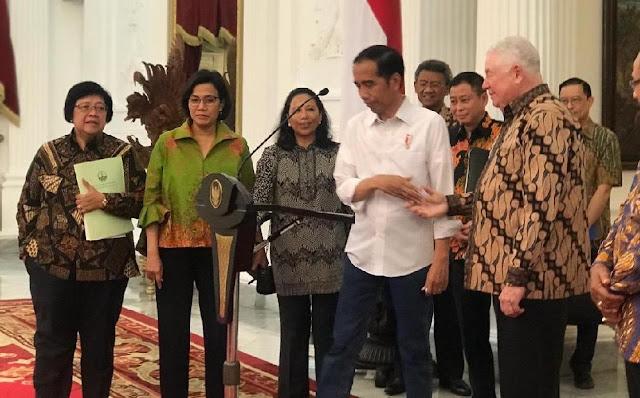 Demi Elektabilitas, Jokowi Harus Luruskan Pertemuannya Dengan Bos Freeport