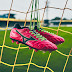 Sepatu Bola Mizuno Rebula V1 Made In Japan MD Pink Glow Black Green Gecko