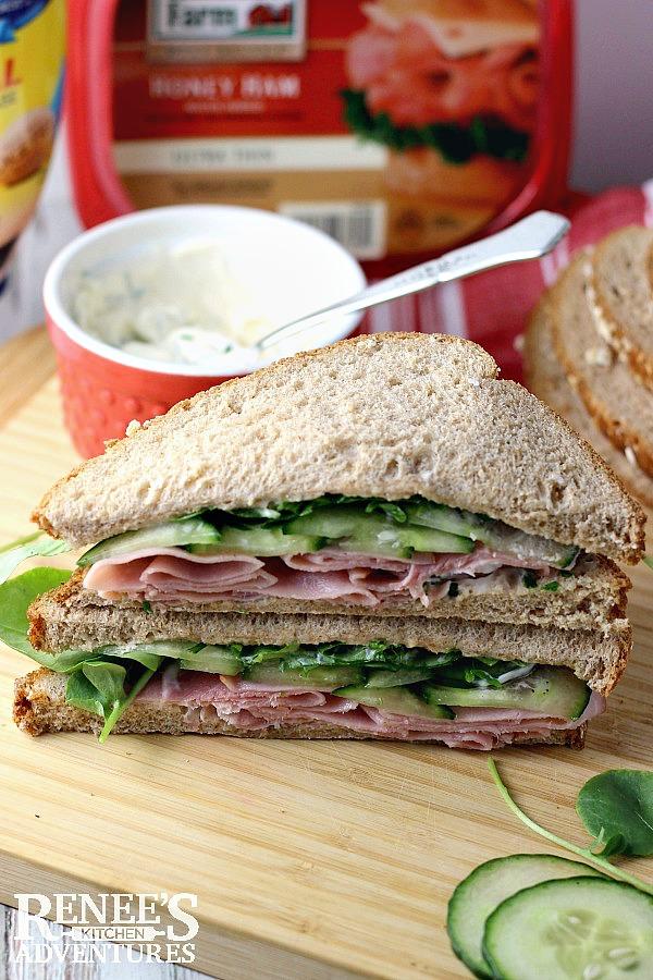 Ham, Cucumber and Watercress Sandwiches   Renee's Kitchen Adventures