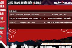 AoE Việt Trung 2021: Lịch thi đấu nội dung 3vs3 Shang thuần tiễn.