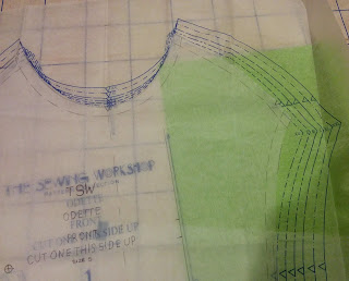 Creates Sew Slow: TSW Odette Top Pattern Alterations