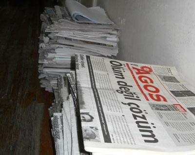 Periódico armenio prohibido por Turkish Airlines