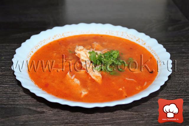 рецепт вкусного томатного супа