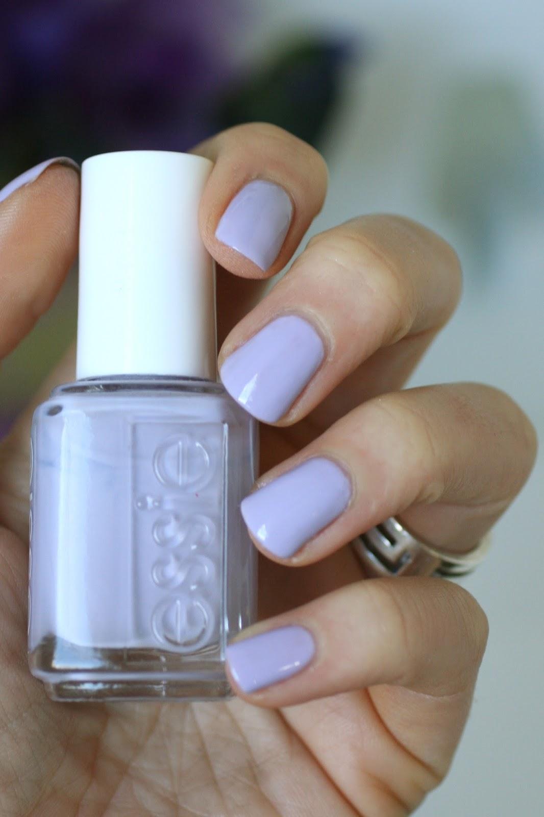 Essie Soft Purples Comparison : Under Where?, Play Date
