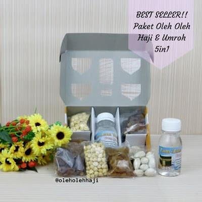 Paket Oleh Oleh Haji & Umroh 5 In 1(Zam Zam)