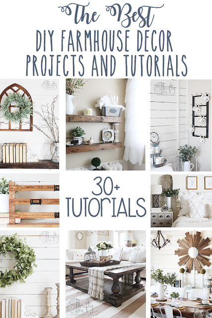 The best diy farmhouse decor projects for you home! Farmhouse decor and decorating ideas.
