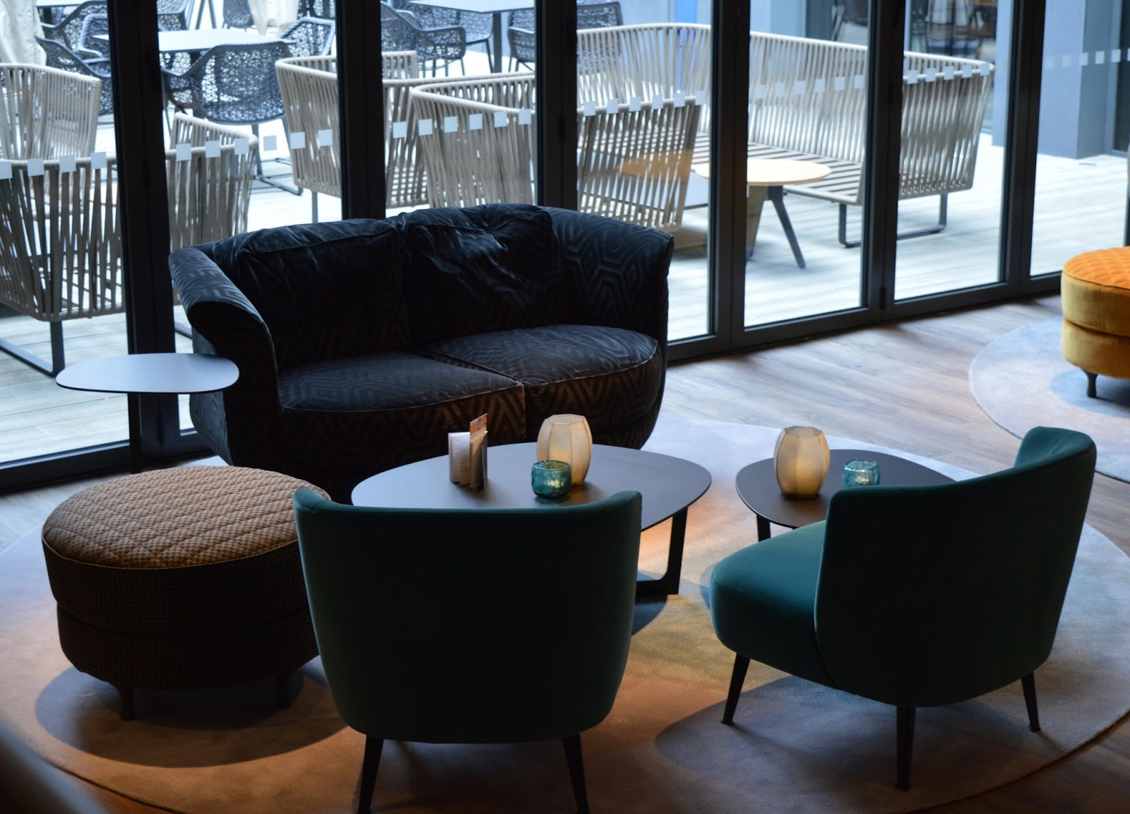 Motel One Newcastle Bar and Lobby Area