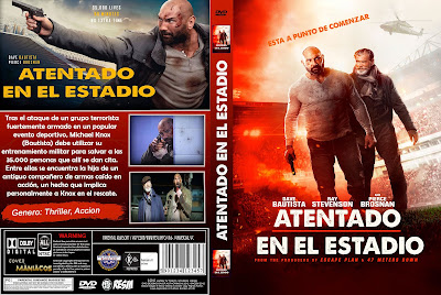 CARATULA ATENTADO EN EL ESTADIO - FINAL SCORE - 2018 - [COVER-DVD]