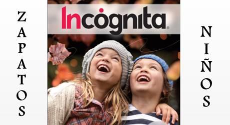zapatos niños catalogo Incognita Kids 2017