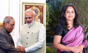 प्रणब मुखर्जी पर पीएम नरेंद्र मोदी के ट्वीट का बेटी शर्मिष्ठा ने दिया बेहद खूबसूरत जवाब