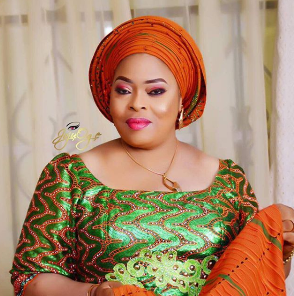 Nollywood actress Toyin Adegbola releases stunning photo as she turns a year older