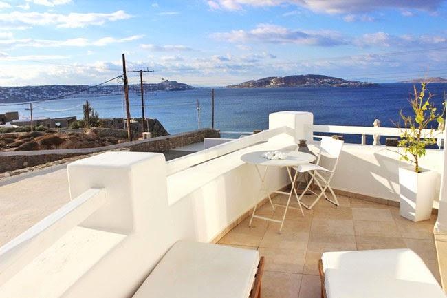 Rocabella Hotel Honeymoon suite balcony