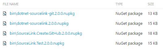 Enable source link support & Announcing SourceLink 2 0