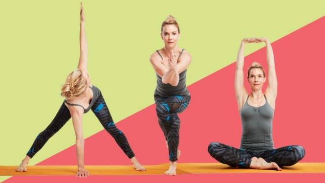 5 gerakan yoga membantu Anda melepaskan stres selama liburan