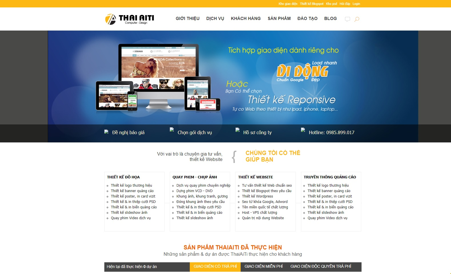 Blogger Template Doanh Nghiệp Free