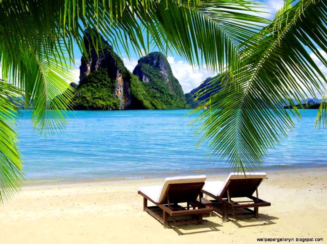 Tropical Island Beautiful Wallpaper Pc