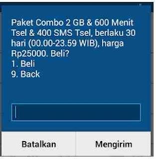 mengenai paket data internet murah telkomsel promo paket internet Telkomsel Murah Kuota 2gb harga 25000 masa akitf 30 hari dapat bonus telpon dan sms