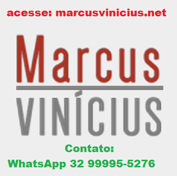 Novo site do Marcus Vinicius