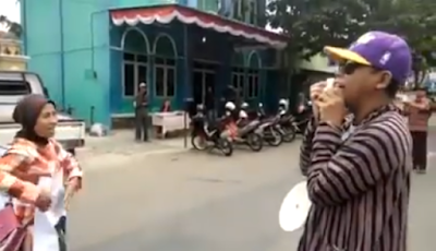 Bikin NGAKAK! Demo Bubarkan FPI Massa Gak Tau FPI Itu Apa, Korlap Kecewa Peserta Cuma 20