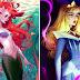 Artista mostra como seriam as princesas da Disney se fossem modelos