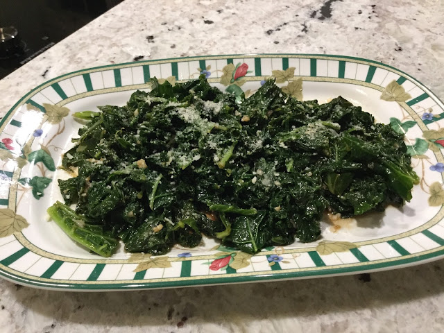 A simple and easy kale recipe.