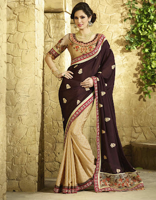 Latest Designs of Viscose Sarees 2015