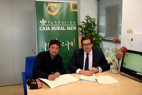 Cr nica de arjonilla el club ciclista arjonilla firma un for Caja rural jaen oficinas
