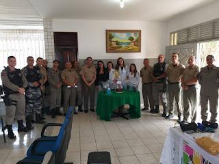 Policiais do 9° BPM participam do encerramento do projeto saúde liberta