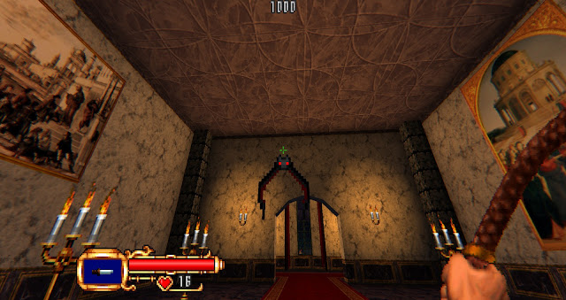 the first enemy the player encounters in the castle entrance is a bat!