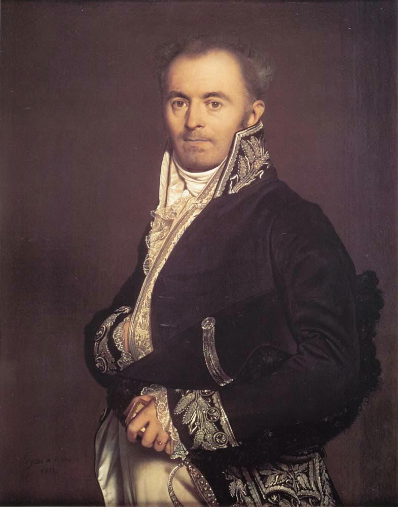 Hippolyte-Francois-Devillers - Ingres e suas principas pinturas ~ Neoclassicismo