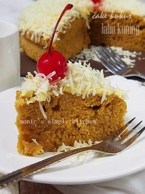 resep cake kukus labu kuning
