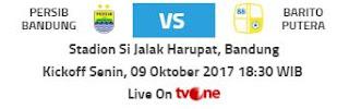 Persib Bandung vs Barito Putera Diprediksi Berlangsung Sengit