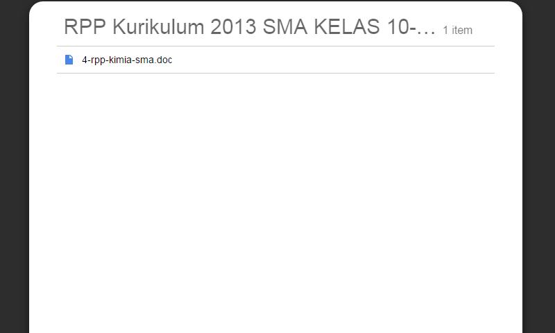 New Revisi Rpp Kurikulum 2013 SMA Kelas 10-11-12 Kimia SMA LengkapTerbaru