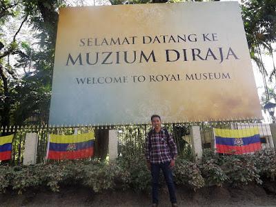 Berkunjung ke Muzium DiRaja Istana Negara Lama Malaysia di Kuala Lumpur