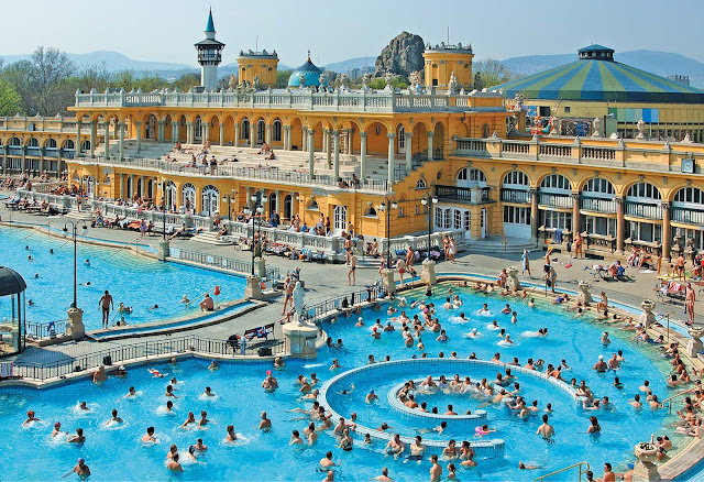 Будапешт – столица термальных вод. Купальня Сечени