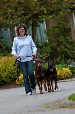Dog Walking Training Sidney and North Saanich BC