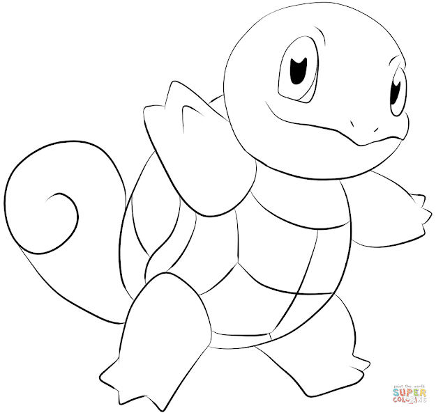 Click The Squirtle Coloring Pages To View Printable Version Or Color It  Online Patible With Ipad And Android Tablets