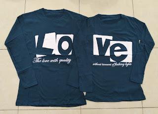 Jual Online LP Love Quality Murah Jakarta Bahan Combed Terbaru