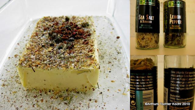 confierte Eismeer-Forelle mit Wildkräutersalat in Kokosmilch | Arthurs Tochter kocht. von Astrid Paul. Der Blog für food, wine, travel & love