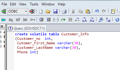 It's all about Data: Insert data from Excel to Terdata table