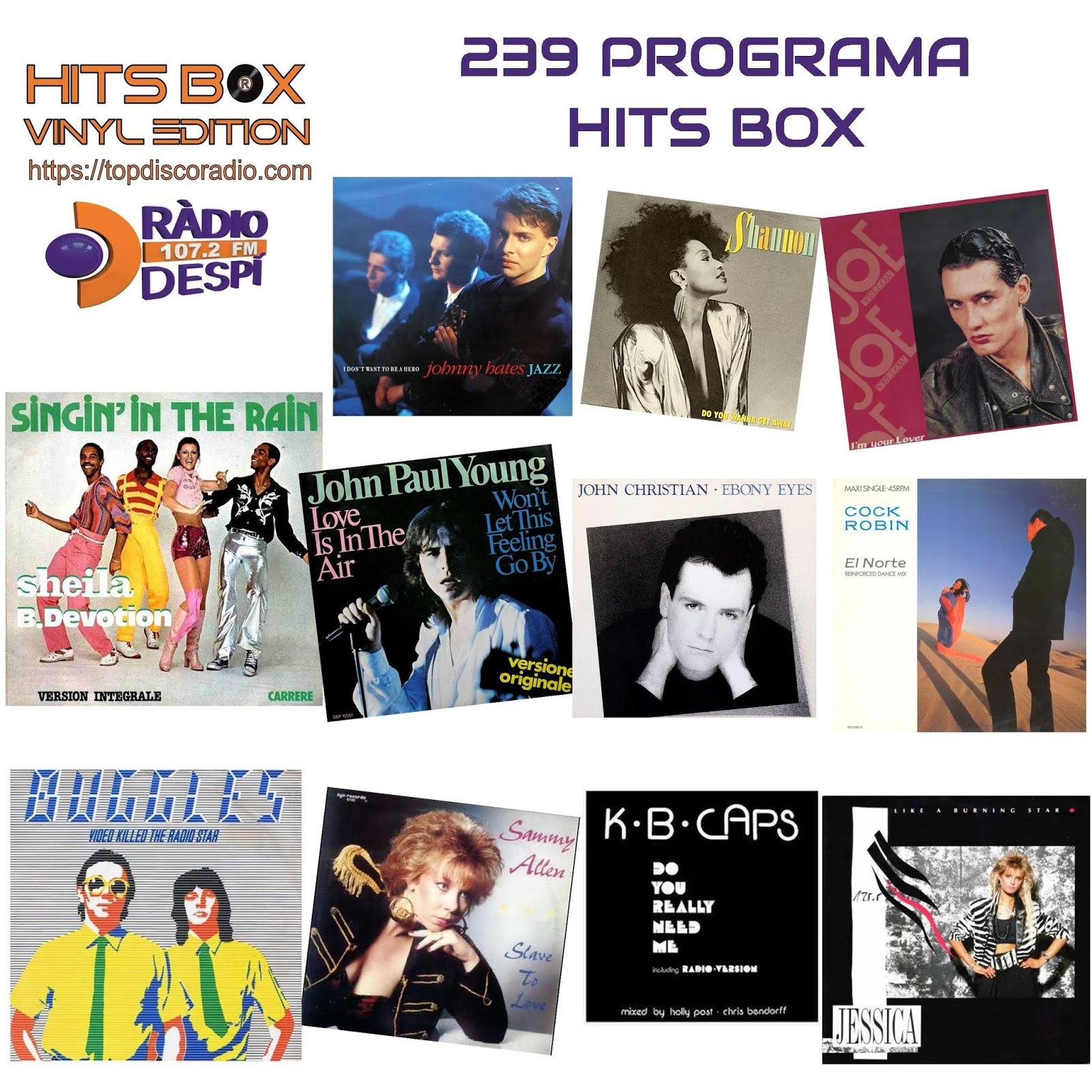 238 Programa Hits Box