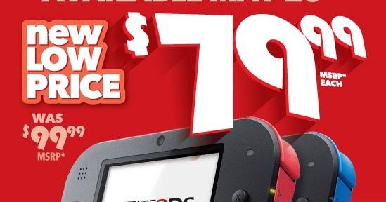 [Atualizado] Nintendo 2DS terá preço reduzido na América em 20 de maio; assista ao comercial de TV
